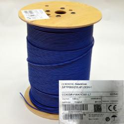 Витая пара кабель CORNING S/FTP 4P, кат. 7, LSZH/FRNC, синий, 1000 м