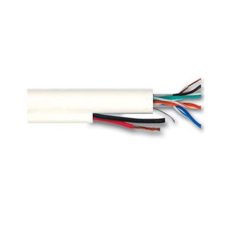 КПВ-ВП (100) 4*2*0,50+2*0,75 мм2 (UTP-cat.5Е) Одескабель витая пара Lan-кабель