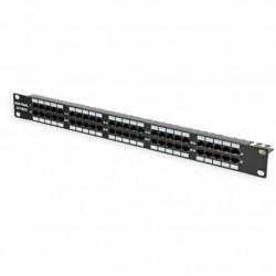 Подробнее оПатч-панель 50 портов, 1U, ISDN, черная