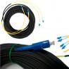 8 волокон 25м Внешний оптический патч-корд