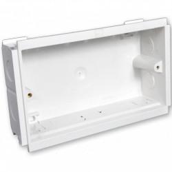 Подрозетник MK Electric 3G для короба, глубина 35мм