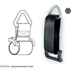 Зажим поддерживающий SS 10 25 В для кабеля коаксильного, телекоммуникационного, ADSS