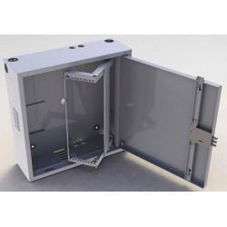 Шкаф антивандальный 3U 600х600х200