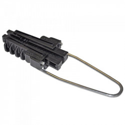 Анкерный зажим Н11, кабельная арматура Premium для круглого самонесущего ADSS кабеля