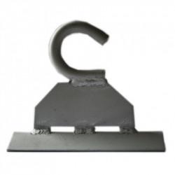 К-10 Крюк для крепления на опорах Premium диаметром стального прутка - 10мм