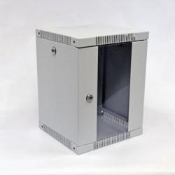 "CMS Шкаф настенный 10"" 8U, 320х300 мм, серый"