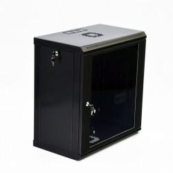 Серверный шкаф настенный 12U эконом, 600x350x640 мм, черный