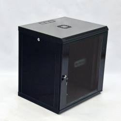 Серверный шкаф настенный 12U эконом, 600x600x640 мм, черный