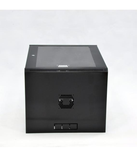 CMS Шкаф настенный 15U эконом, 600x500x773 мм, черный