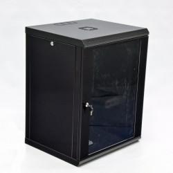 Серверный шкаф настенный 15U эконом, 600x600x773 мм, черный