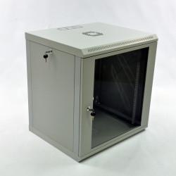 Серверный шкаф настенный 12U эконом, 600x500x640 мм, серый