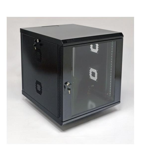 CMS Шкаф настенный 12U, 600x700x640 мм, черный