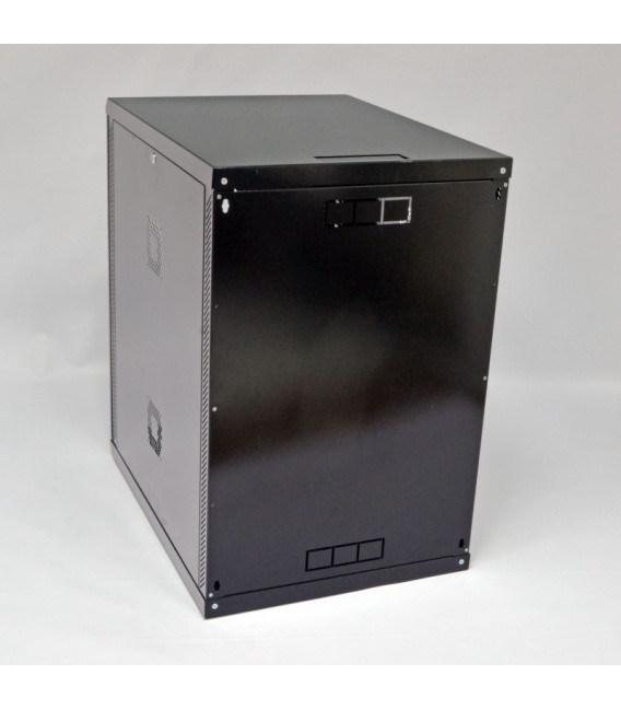 CMS Шкаф настенный 18U, 600x800x907 мм, черный