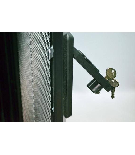 CMS Шкаф напольный перфорация 42U, 800х1055 мм, усиленный, чёрный