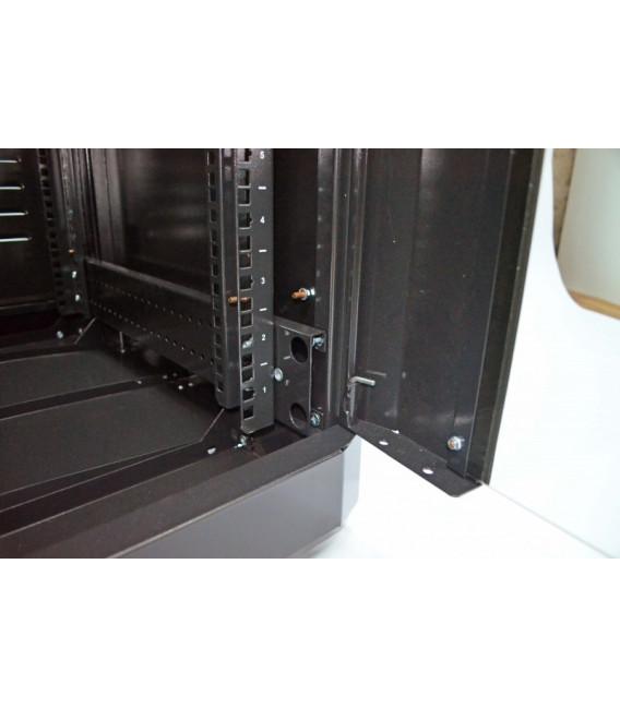 CMS Шкаф напольный 24U, 610х675 мм, усиленный, чёрный