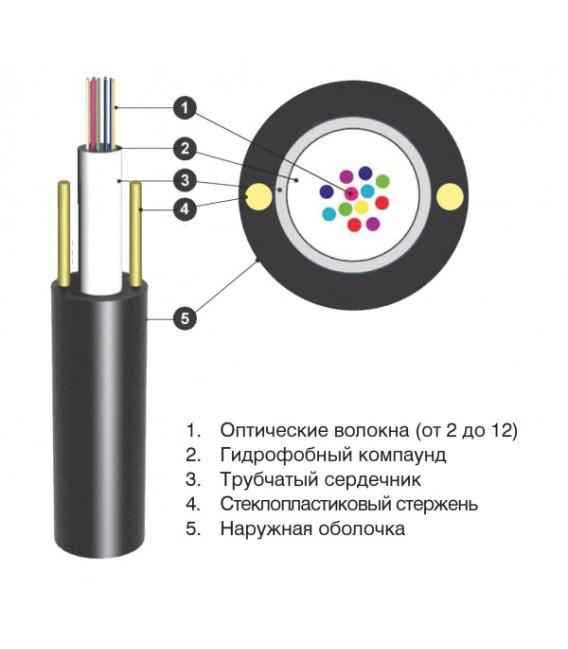 Кабель оптический ОЦПс 2,7кН 6 волокон