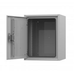 IP54-18U 650х500х947 антивандальный уличный шкаф