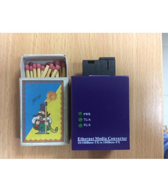 Медиаконвертер X3 Mini Type,10/100M Bi-di,Tx1310/Rx1550nm, SC, 20Km