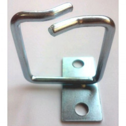 Hypernet Менеджмент кабеля металлическое кольцо 40*40мм левая фиксация