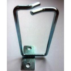 Hypernet Менеджмент кабеля металлическое кольцо 80*40мм левая фиксация