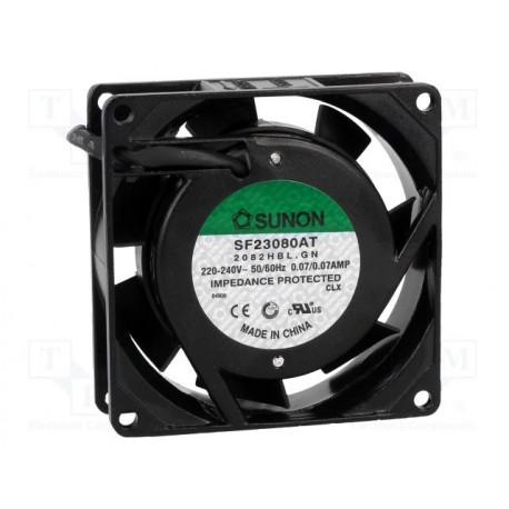 Вентилятор SF23080AT2082HBL 80x80x25 мм
