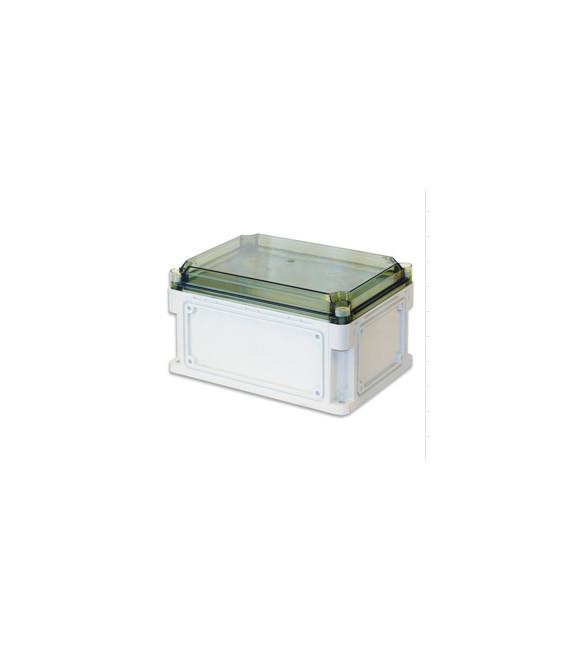 Бокс пластиковый уличный IP 67 300х200х160 мм прозрачная крышка