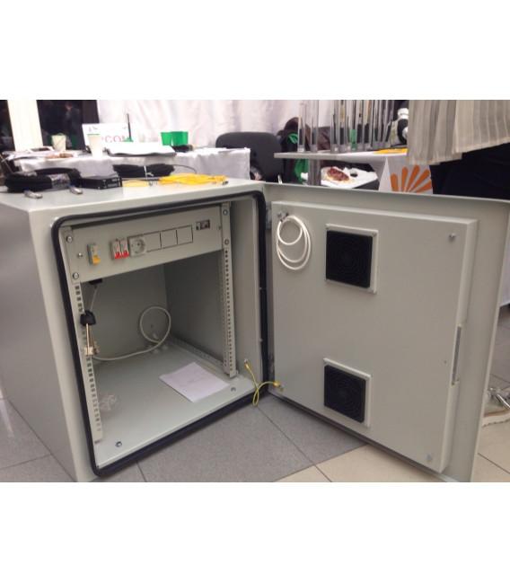 Всепогодный уличный климатический шкаф ШКК 9U