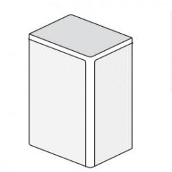 ДКС 40x17мм Заглушка, белый