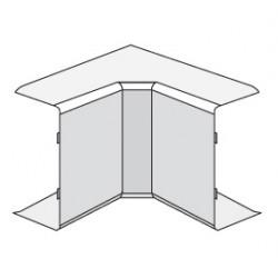 ДКС 40x17мм Угол внутренний, коричневый
