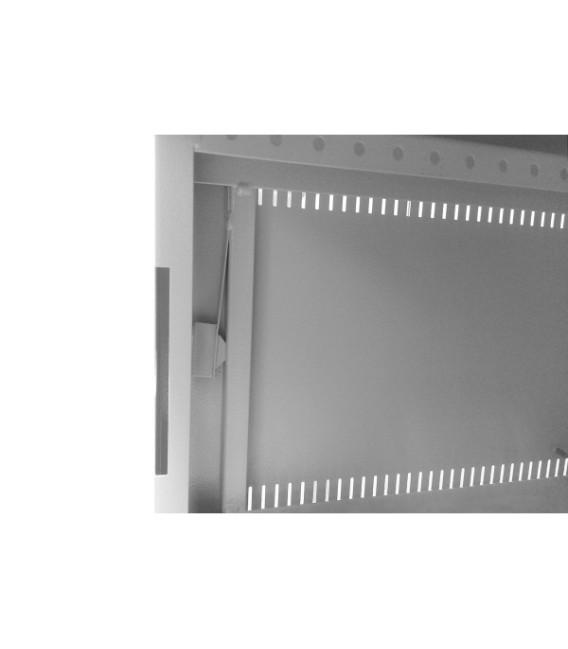 Шкаф настенный 12U 600x450 Дверь стекло