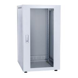 Шкаф напольный 24U 600x600 Дверь стекло