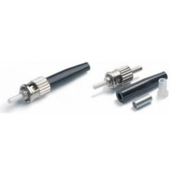 Коннектор оптический (собранный) ST simplex SM (PC), 3мм