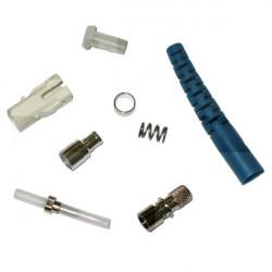Коннектор оптический (не собранный) FC simplex SM (APC), 0,9мм