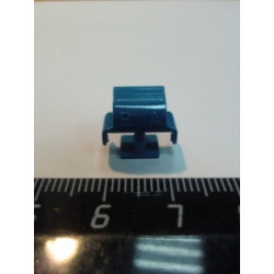 Холдер для коннекторов SM (синий) LC Duplex