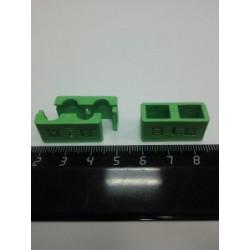 Холдер для коннекторов APC (зеленый) SC Duplex