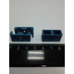 Холдер для коннекторов SM (синий) SC Duplex