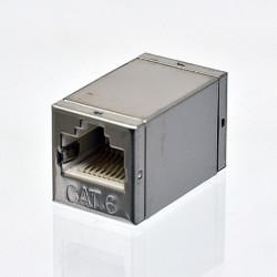 Подробнее оСращиватель витой пары (cоединительная розетка), экранированный, под коннекторы, cat. 6