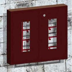 Стенд пожарный закрытого типа