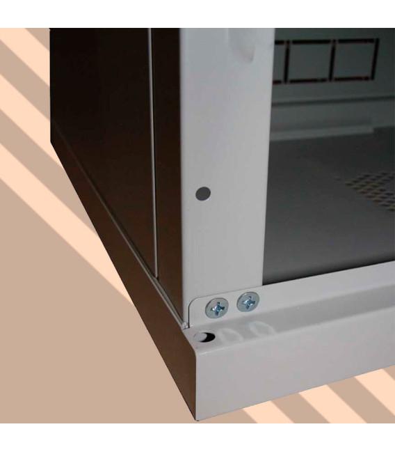 9U 600x450 Шкаф серверный телекоммуникационный