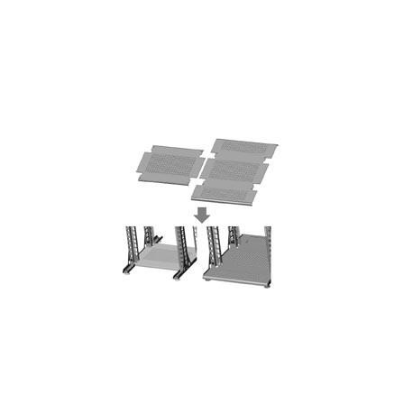 Полка нижняя 400-760 мм усиленной стойки
