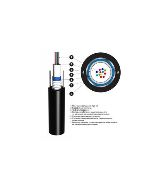 Кабель оптический ОЦБгП 2,7кН 12 волокон