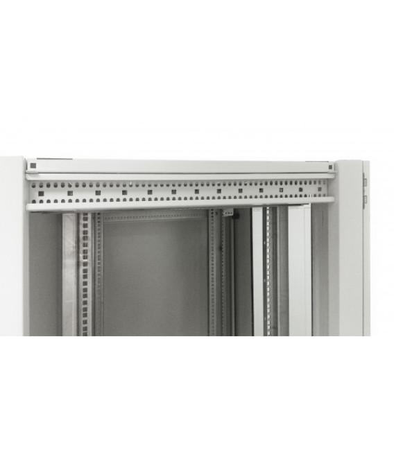Шкаф напольный 33U 600x1000 Дверь стекло