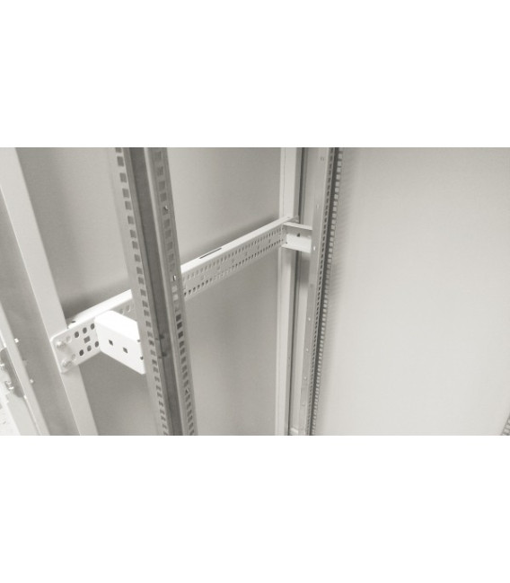 Шкаф напольный 42U 600x800 Дверь стекло