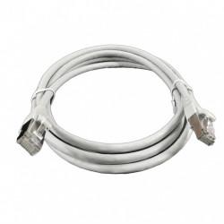 Патч-корд 1м серый FTP кат6