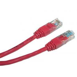 Патч-корд 0,5м красный UTP RJ45 кат.5Е