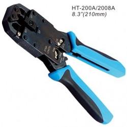Инструмент для обжимания коннекторов 8C8P, 6PxC, 4PxC, профессиональный